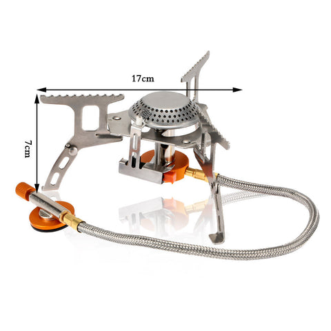 Portable Outdoor Folding Canister Stove - 101survivalgear.com