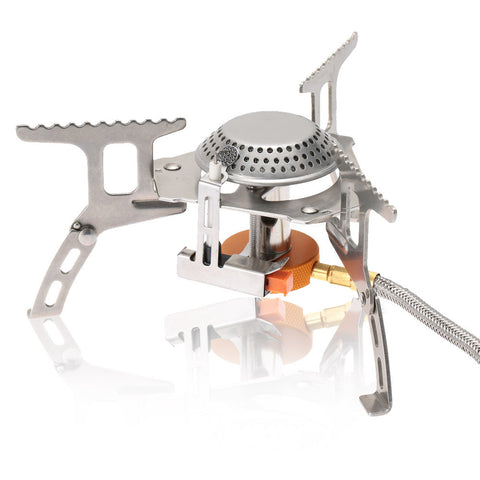 Image of Portable Outdoor Folding Canister Stove - 101survivalgear.com