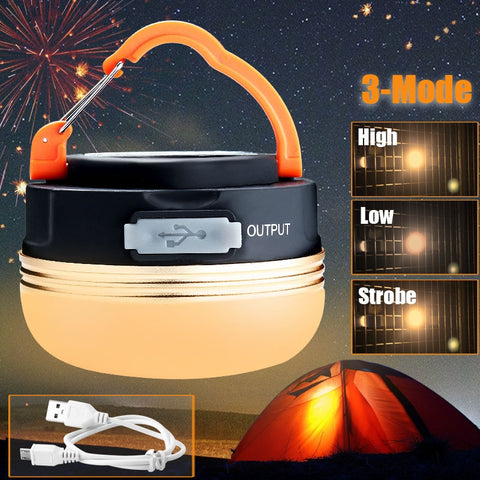 Image of Mini Portable Outdoor Camping Hanging Lamp - 101survivalgear.com