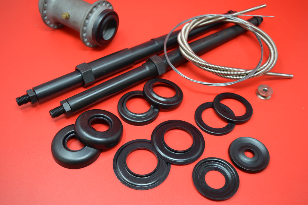 6-10-2020 Control Cables, Footboard Rods,Wheel Hub Dust Covers & Spring Washers.