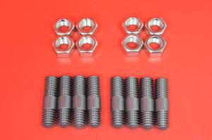 0129 Harley JD Cylinder Studs/Nuts (16pcs) 1903-1930 Harleys & Other early bikes