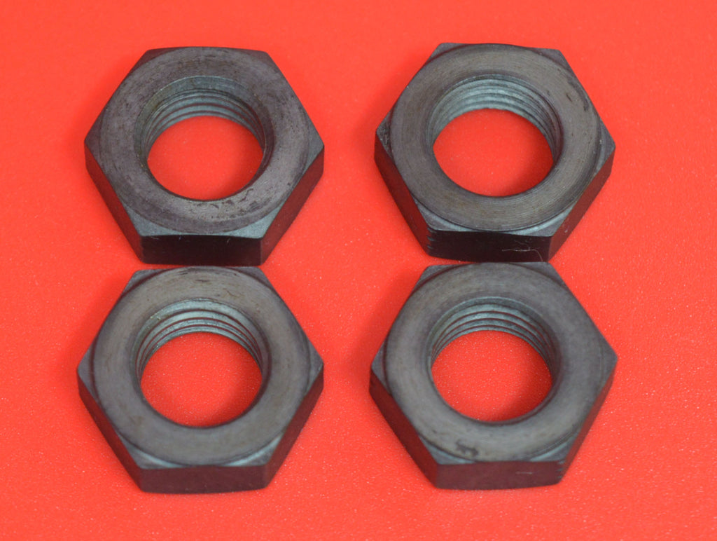 0130 Harley J JD Footboard Sidebar Clamp Nuts (Set of 4)  Fits 1914-1929
