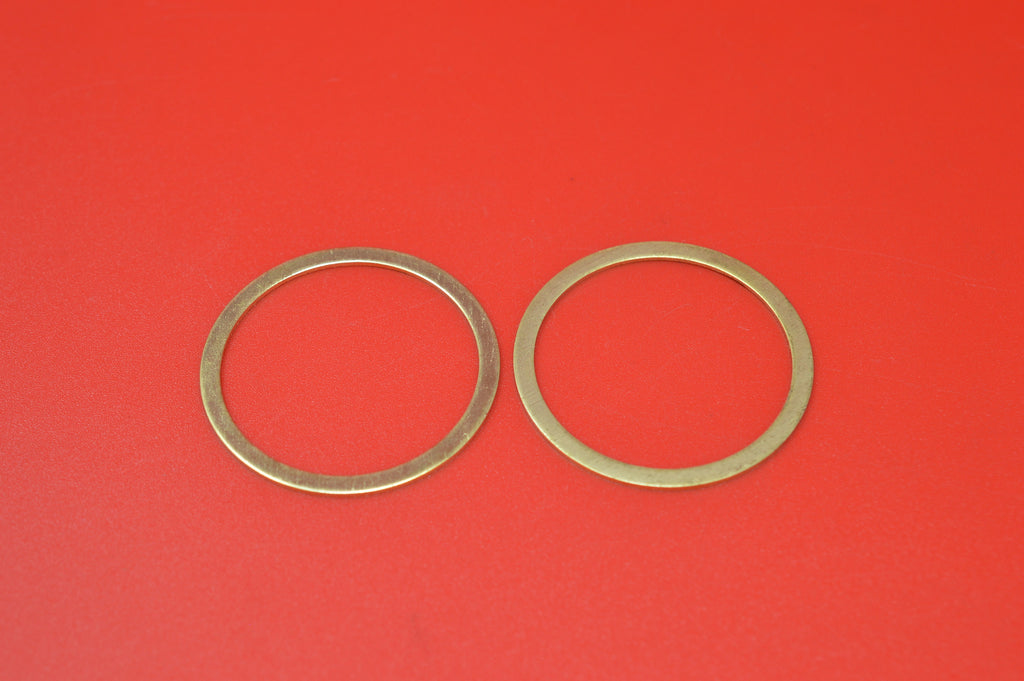 1000-09 HARLEY JD EXHAUST PIPE NIPPLE BRASS O-RING 1909-1914