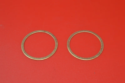 1000-15 HARLEY JD EXHAUST PIPE NIPPLE BRASS O-RING 1915-1929 61