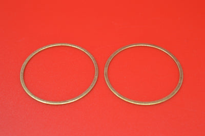 1000-21 HARLEY JD EXHAUST PIPE NIPPLE BRASS O-RING 1921-1929 74
