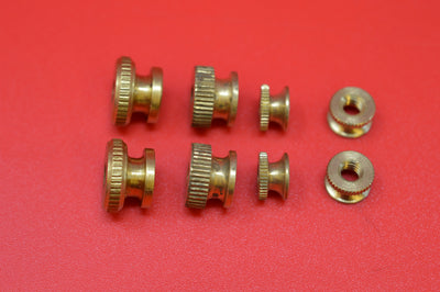 1001-TN ANTIQUE SPARK PLUG & MAGNETO THUMB NUTS  HARLEY JD