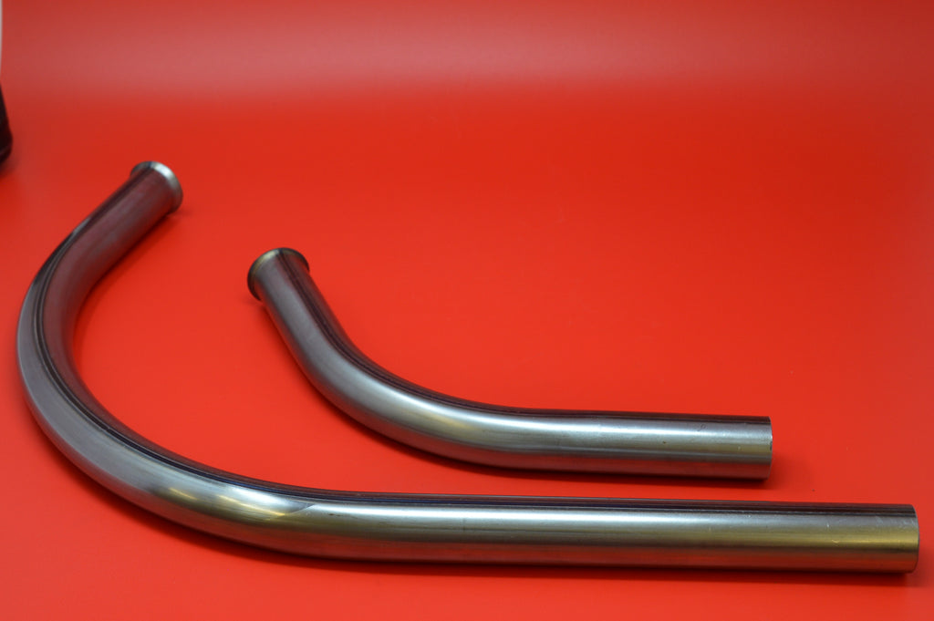 "1004/5-15 HARLEY JD 1.25"" OD EXHAUST PIPE SET. ALL 61"" TWINS 1915-1924"