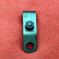 1063-25 Harley JD Front Muffler Support Bracket Fits 1925 to 1928 Twins.