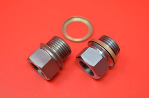 18-10 TOP CYLINDER PLUGS INDIAN FLYING MERKEL (1 Pair)