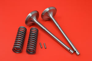 181-21 HARLEY JD EXHAUST VALVES & SPRINGS 1921-1929