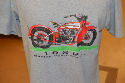 1929 Harley Davidson JD Tee Shirt - Competition Distributing