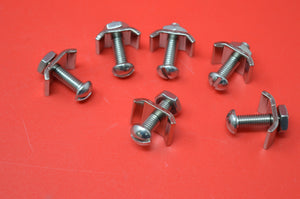 Corbin Speedometer Road Gear Clips. Set of 6 for Clincher Rims.  PRE 1929
