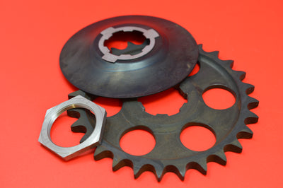 2035-15-20 HARLEY JD VL 28T Countershaft Sprocket, Nut, & Washer 1920-1936