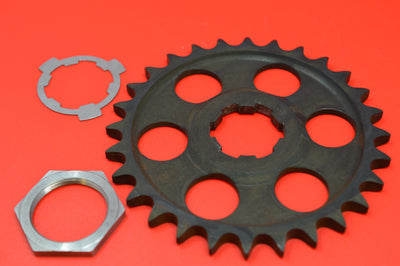 2035-15 HARLEY J JD VL 28T Countershaft Sprocket, nut, washer 1915-1936 BIG TWIN