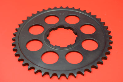 2043-15-530 HARLEY JD REAR WHEEL SPROCKET 43 TOOTH 530 CHAIN 1915-1924 3 SPEEDS