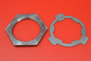"2335-15K HARLEY JD TRANSMISSION SPROCKET NUT AND LOCK WASHER 61"" & 74"" TWINS"