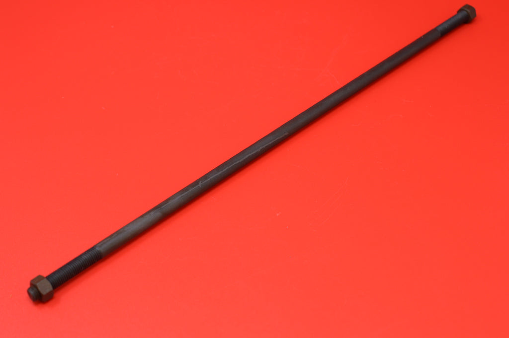 "2424-26 Harley JD Foot Clutch Rod with Nuts. 14"" 1926-1929 Three Speed Twins"