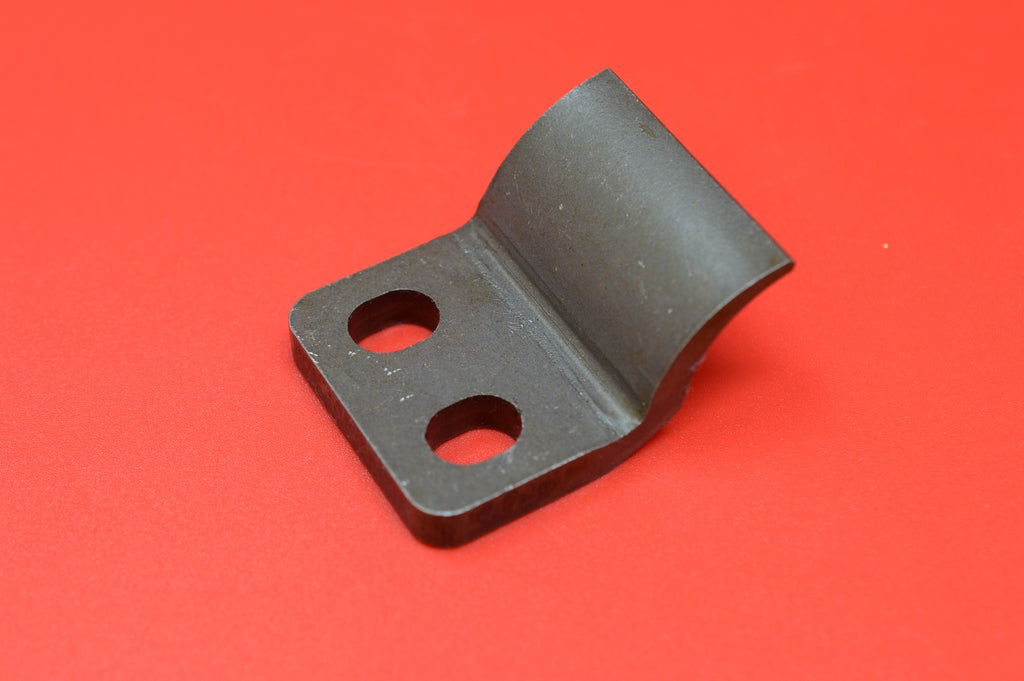 "2808-25 HARLEY JD REAR CYLINDER CLAMP BRACKET. FITS 1921 & UP 74"" TWINS."