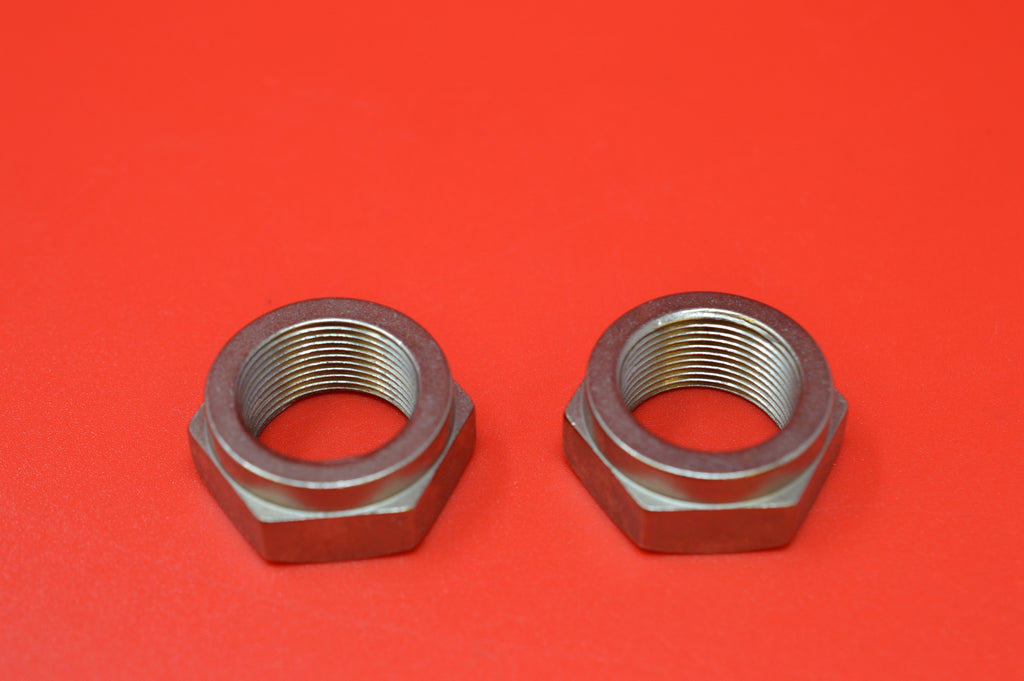 3929-21 HARLEY JD FRONT HUB CONE LOCK NUTS. 1921-1927 ALL MODELS