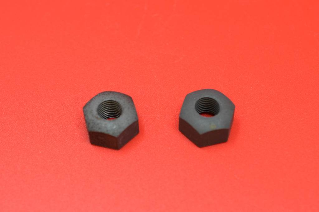 500-05N HARLEY JD FRONT AXLE NUTS. 1905-1913 & 10A MODELS. SINGLES & TWINS