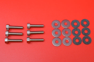 8821-18OS TOP OF TANK SCREW & WASHER KIT. OVERSIZED. NICKEL PLATED 1918-1936 & 1936-1952 45's