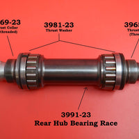"3991-23 Rear Hub Bearing Race.  1923 - 1929 Harley 61"" 74"" Twins"