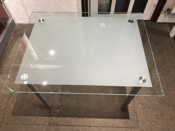 Glass Coffee table - Wakefield Glass & Aluminium