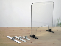 Stainless Steel Surface mounted screen holder (component) - Wakefield Glass & Aluminium