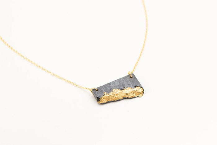dconstruct - Concrete Necklace, Gold