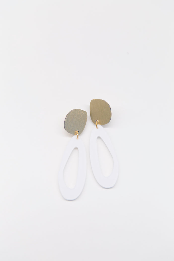 dconstruct - Fluid Oval Earrings