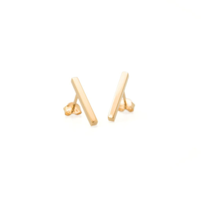 Muizee - Bar Stud Earring