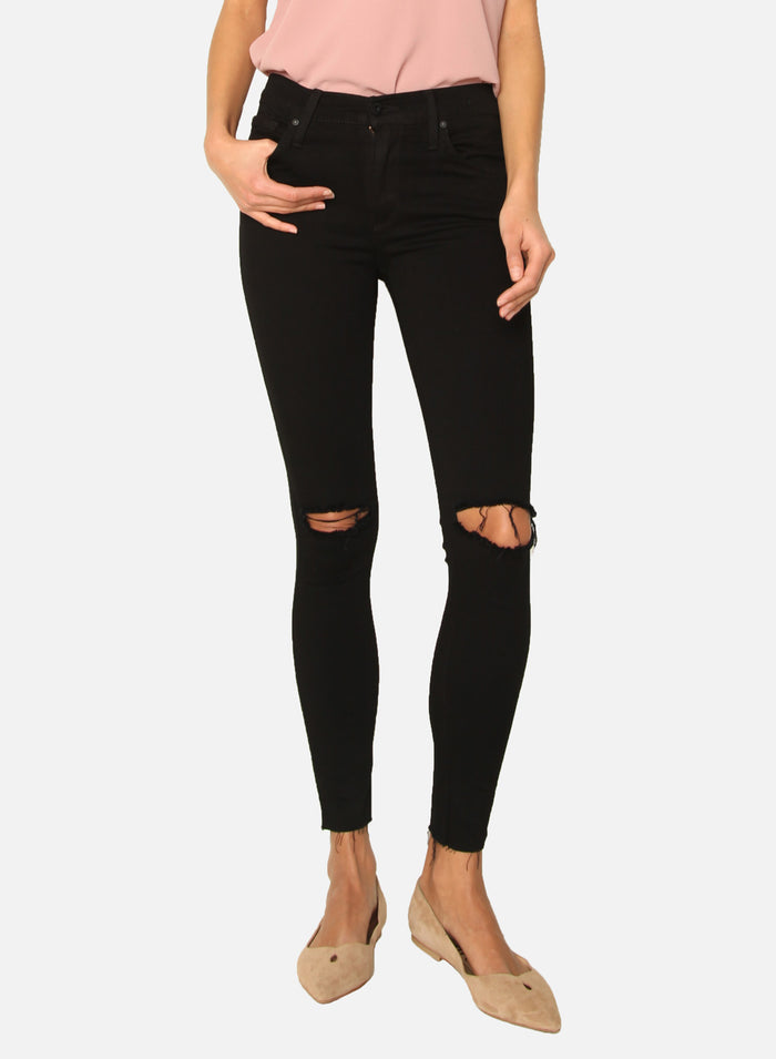 James Jeans - Twiggy Ankle, Black Swan Raw