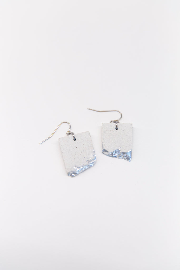dconstruct - Concrete Rectangle Earrings