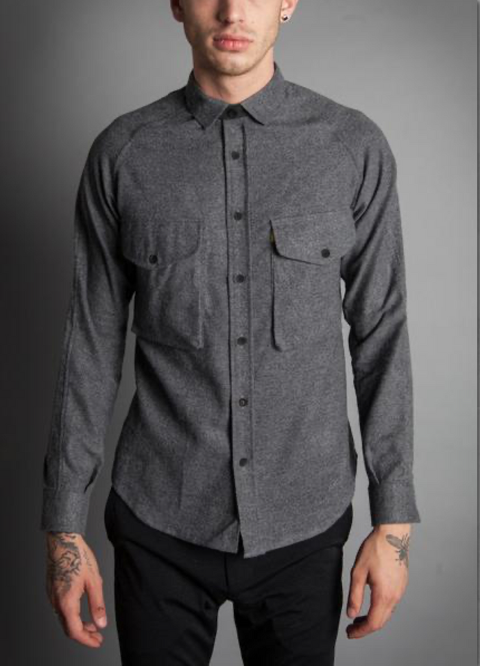 Descendant of Thieves - Soft Baumewolle Shirt, Grey