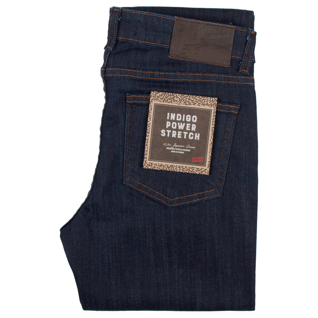 Naked & Famous - The Skinny Indigo Power Stretch