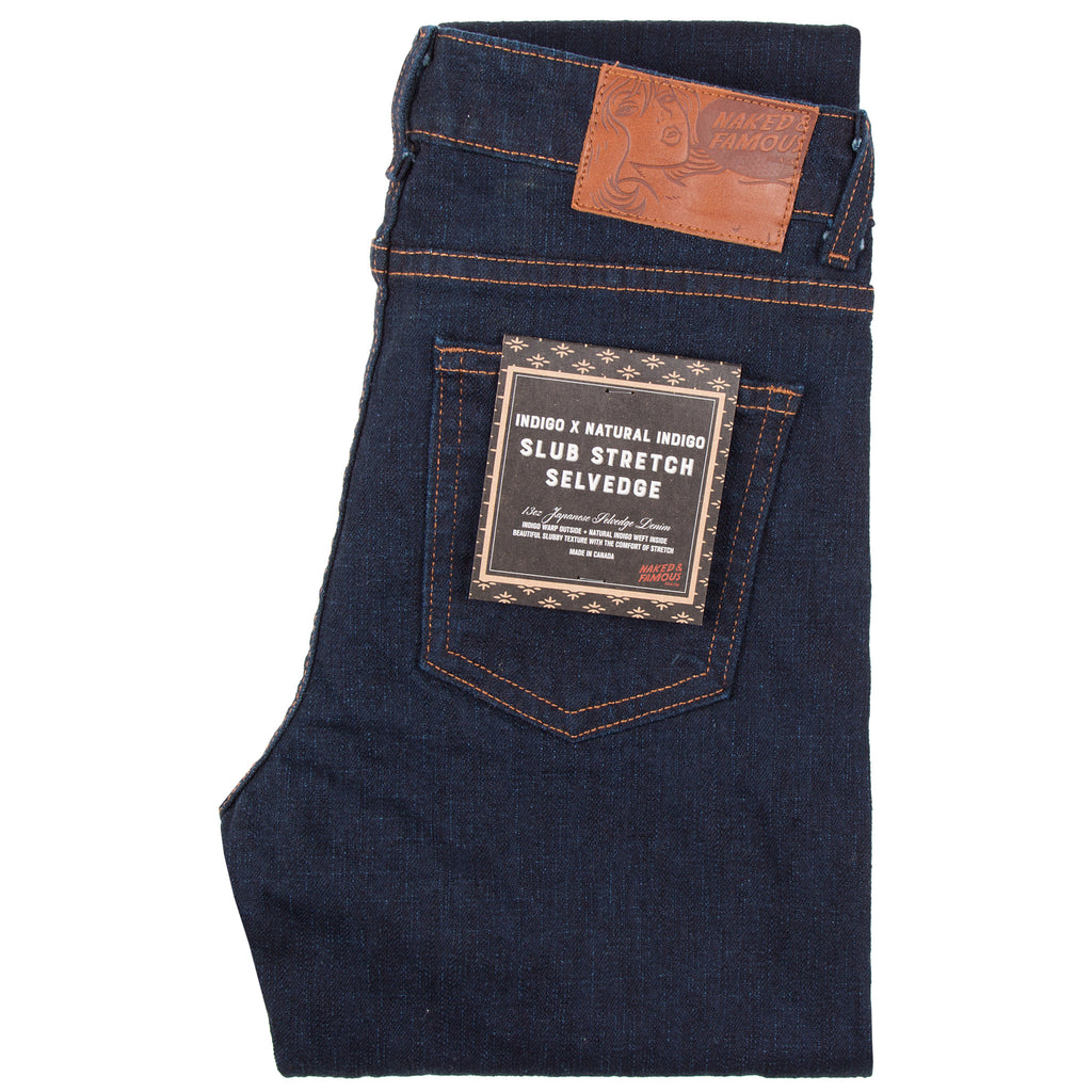 Naked & Famous - The Skinny - Indigo x Natural