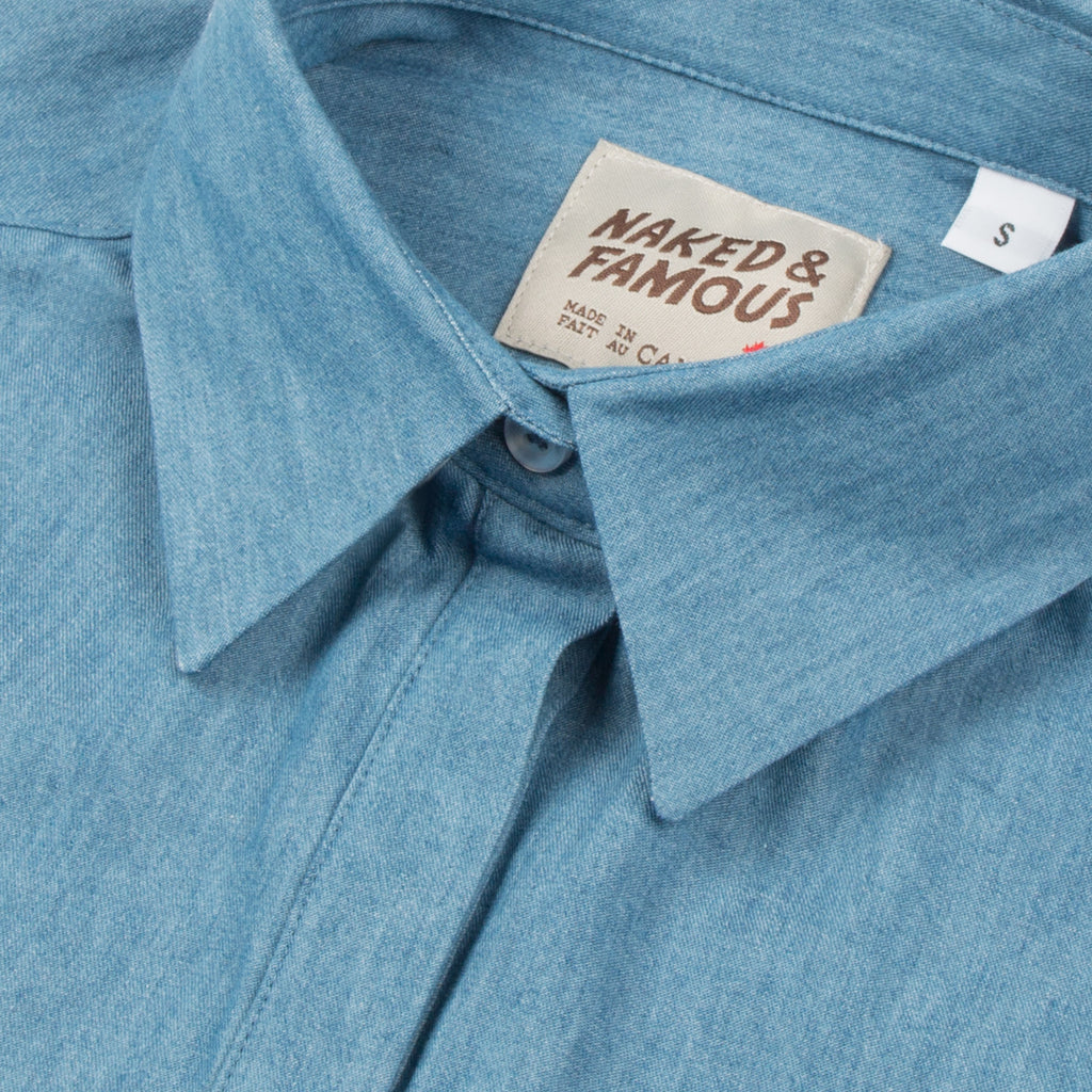 Naked & Famous - Tunic Shirt - 4.5oz Denim