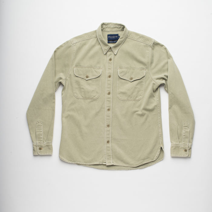 Freenote Cloth - Utility Shirt, Army Green