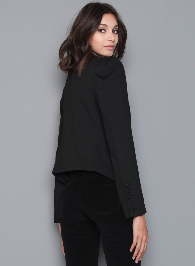 James Jeans - V Blazer, Black Ponte