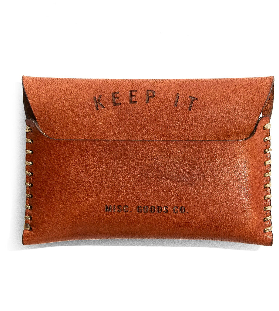Misc. Goods Co. - Leather Wallet V2