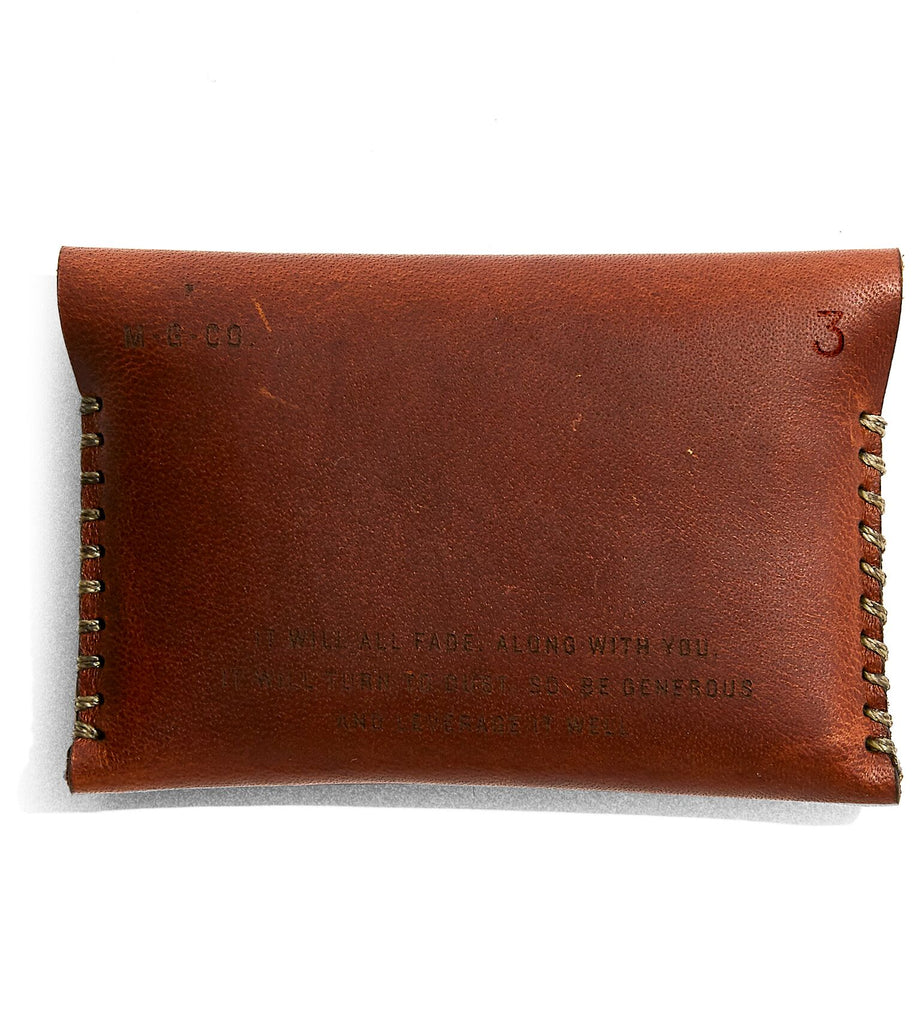Misc. Goods Co. - Leather Wallet V3
