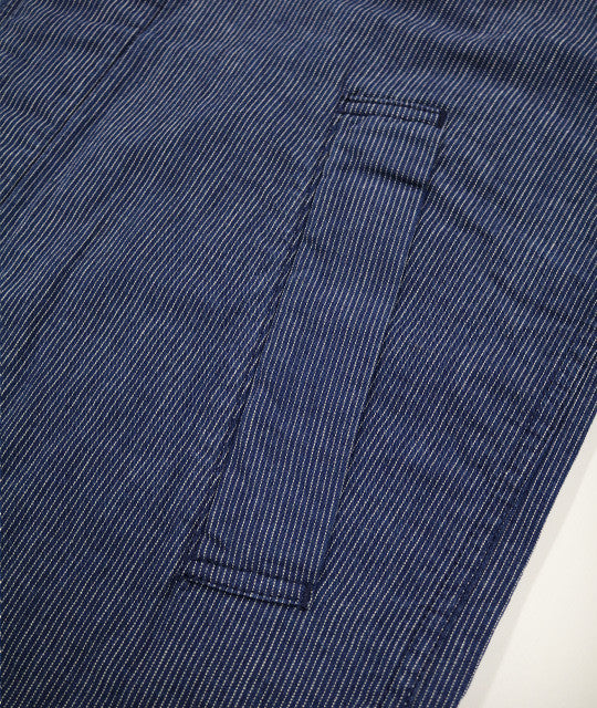 Japan Blue - Shop Coat - Indigo Old Stripe