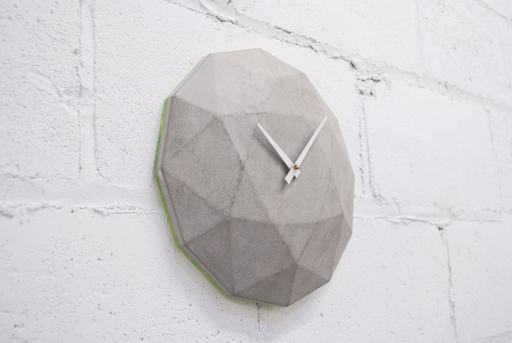 National Design Collective - Cairo Star Concrete Clock