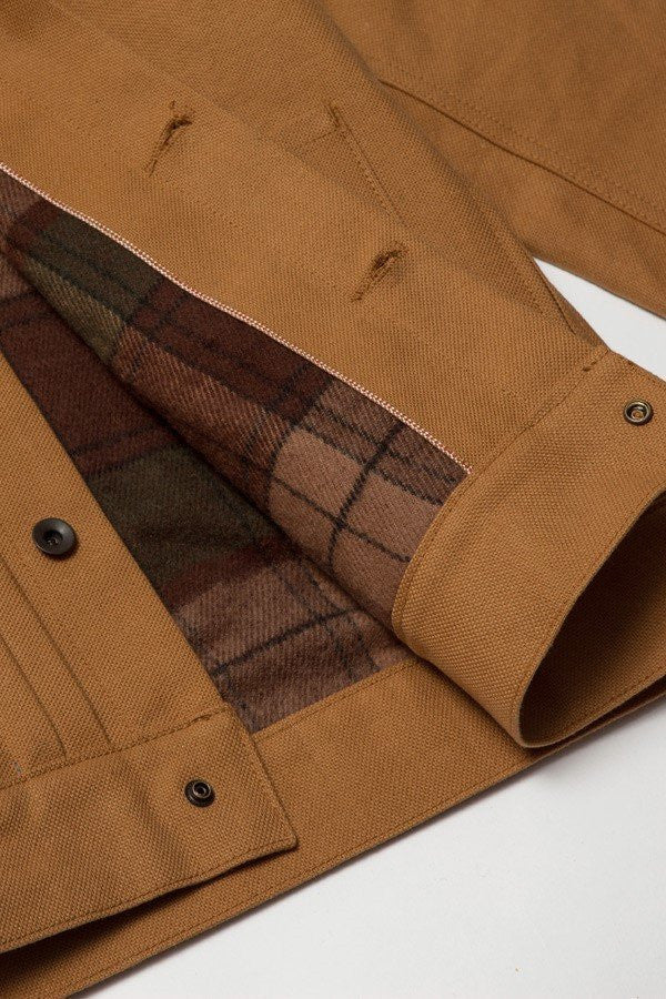 Norman Russell - Cooper Jacket, Brown Canvas
