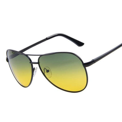 Polarized Night Vision Aviator Sunglasses