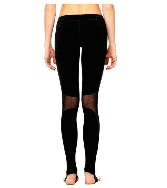 Compression Mesh Workout Leggings