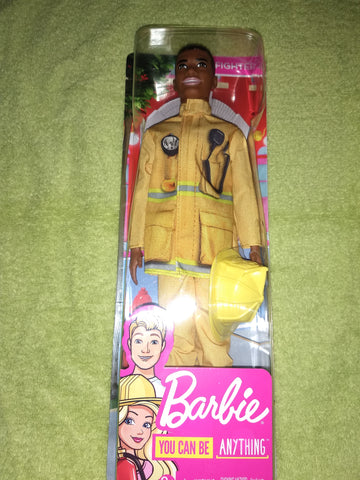 "Barbie ""You can be anything"" Firefighter"