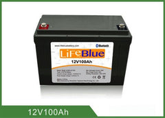 LB12100B LIFEBLUE LITHIUM BATTERY 100 AH PICTURE