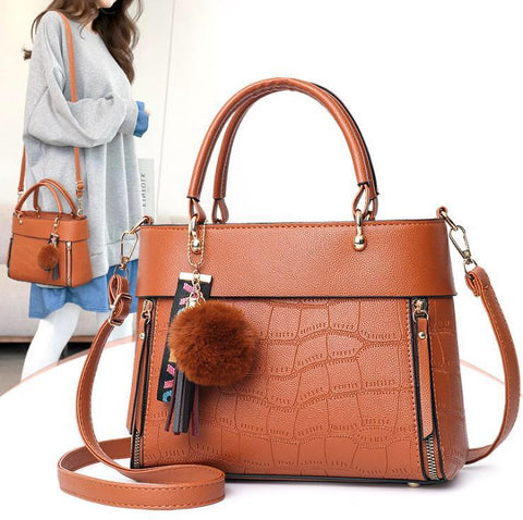 Shoulder/Hand Leather Bag