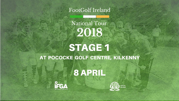 Stage 1 - Kilkenny FootGolf - 8th April 2018